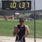 Er konnte als Sieger im Ziel als erster den Applaus einheimsen: Benedikt Ager aus Grassau