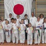 Schnaitseer Karatesportler