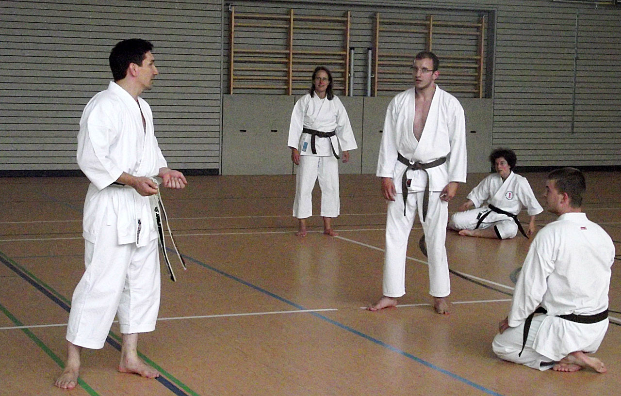 Karateausbildung