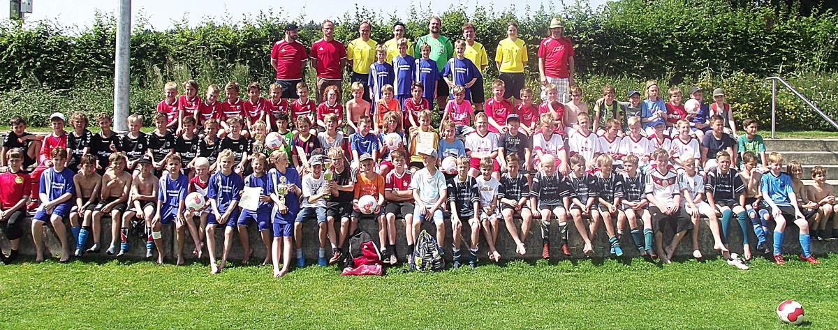 Es gab nur Sieger beim großen Meisterturnier der E-Junioren des Kreises Inn/Salzach